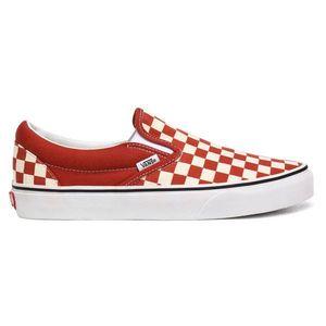 Vans Ua Classic Slip-On (Checkerboard)Picnt/Trwht-12 červené VN0A4U38WS2-12 obraz