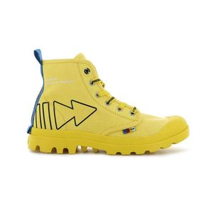 Palladium Pampa Dare Rew Fwd Maize-3.5 žluté 76862-709-M-3.5 obraz