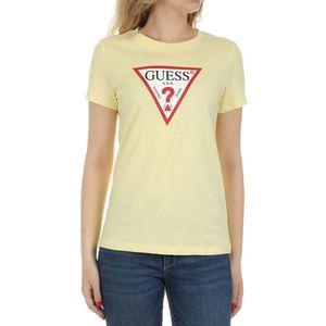 Guess dámské žluté tričko obraz
