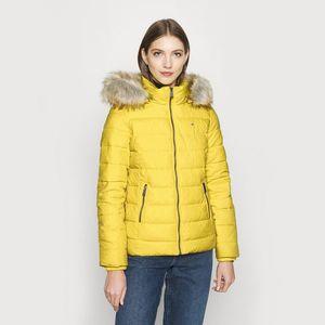Dámská žlutá bunda obraz