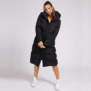 Guess dámská dlouhá černá zimní bunda obraz