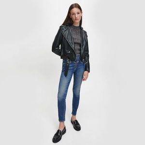 Calvin Klein dámská černá bunda obraz