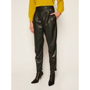 Kožené kalhoty TwinSet obraz