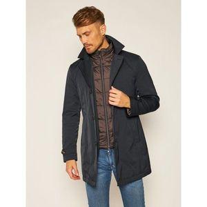 Černá pánský zimní kabát obraz
