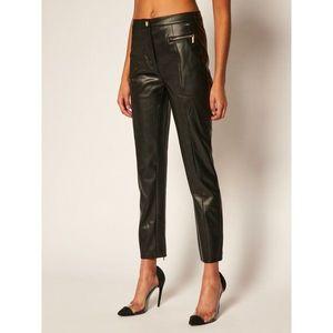 Kožené kalhoty Armani Exchange obraz
