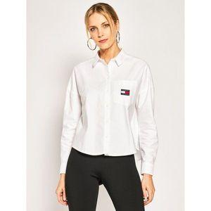 Tommy Jeans Košile bílá obraz