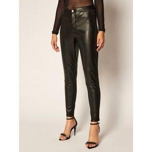 Kožené kalhoty Calvin Klein Jeans obraz