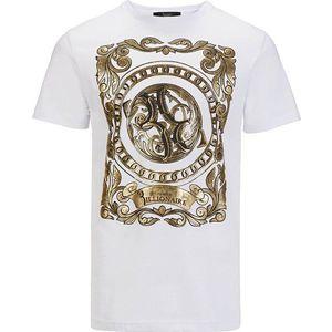 Billionaire pánské tričko Barva: Bílá, Velikost: S obraz