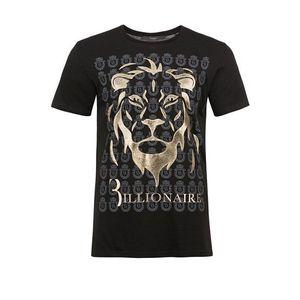 Billionaire pánské tričko Barva: černá, Velikost: XS obraz