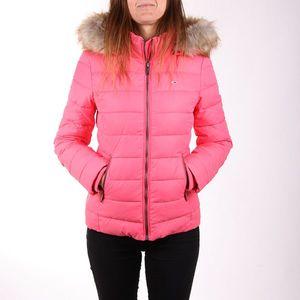 Tommy Jeans dámská růžová bunda Essential obraz