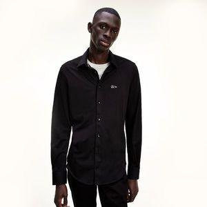 Pánská černá košile obraz