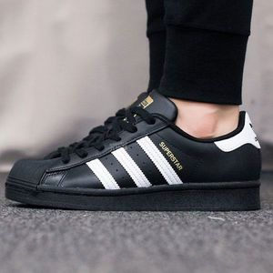 Tenisky Adidas Superstar Black obraz