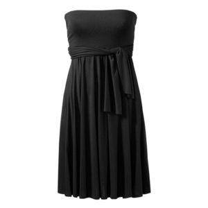 Plážové šaty černá 38 obraz