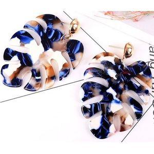 Náušnice Noemi-Modrá KP6747 obraz