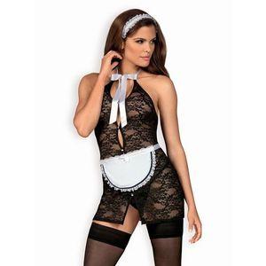 Sexy kostým Servgirl - Obsessive S/M Černá obraz