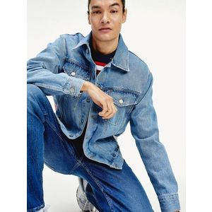 Tommy Hilfiger pánská džínová bunda oversize obraz