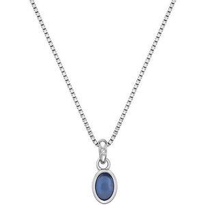 Hot Diamonds Stříbrný náhrdelník pro narozené v září Birthstone DP762 obraz