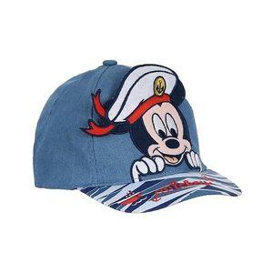 Modrá džínová chlapecká kšiltovka Mickey Mouse obraz