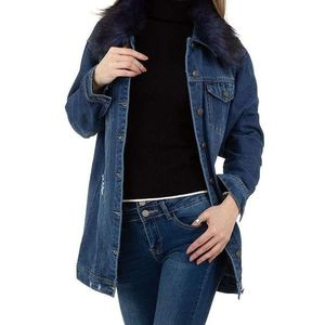Dámský jeansový kabát obraz