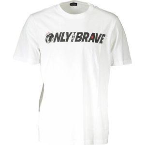 Diesel pánské tričko Barva: Bílá, Velikost: S obraz