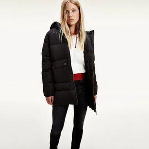 Tommy Jeans dámská černá bunda obraz