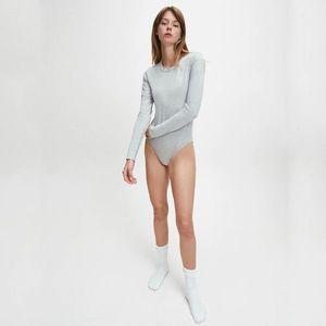 Calvin Klein dámské šedé body obraz