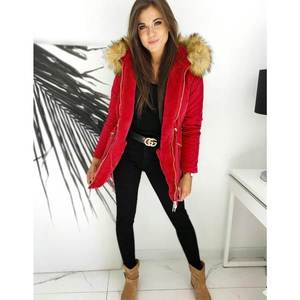 Women's winter parka ENDURO red TY1442 obraz