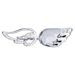 Preciosa Stříbrný otevřený prsten s krystalem Crystal Wings 6066 00 obraz