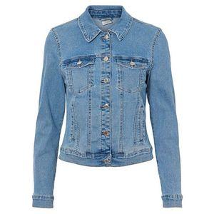 Vero Moda Dámská džínová bunda VMHOT SOYA 10193085 Light Blue Denim XS obraz