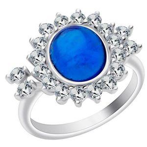 Preciosa Stříbrný prsten Camellia 6108 68 obraz
