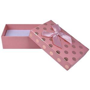 JK Box Roztomilá krabička na soupravu šperků KC-6/A5 obraz
