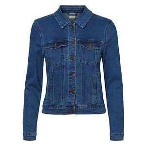 Vero Moda Dámská džínová bunda VMHOT 10193085 Medium Blue Denim XS obraz