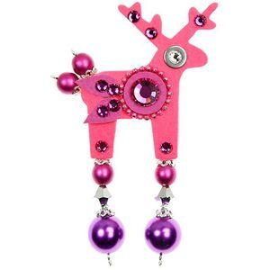 Deers Neonově růžový jelínek Rolf obraz