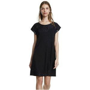 Desigual Dámské šaty Vest Banquet Negro 20SWVK12 2000 S obraz
