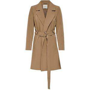 Jacqueline de Yong Dámský kabát JDYORNELLA BELT TRENCHCOAT OTW YFM Woodsmoke S obraz