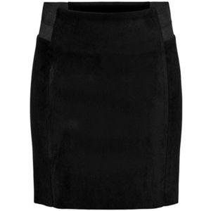 Jacqueline de Yong Dámská sukně JDYKIRSTEN 15214736 Black BLACK ELASTIC 34 obraz