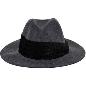 ONLY Dámský klobouk ONLCOWBY CITY WOOL HAT 15213992 Dark Grey Melange SHINY RIBBON obraz
