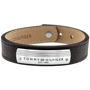 Tommy Hilfiger Designový kožený náramek TH2790179 obraz