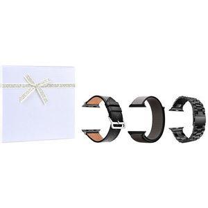 4wrist Gift box pro něj - Black vel. 42/44 mm obraz