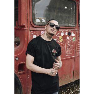 Mr. Tee Rose Tee black obraz