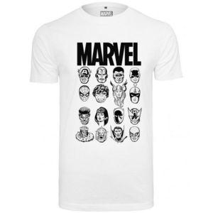Mr. Tee Marvel Crew Tee white obraz