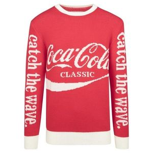Mr. Tee Coca Cola Xmas Sweater red obraz