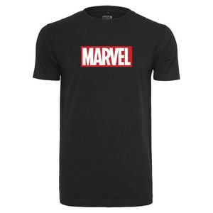 Mr. Tee Marvel Logo Tee black obraz