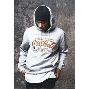 Mr. Tee Old Coca Cola Logo Hoody grey obraz