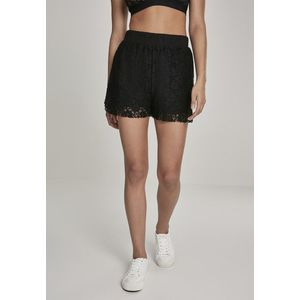 Urban Classics Ladies Laces Shorts black obraz