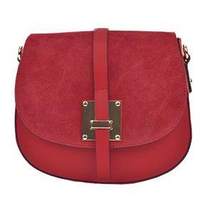 Sofia Cardoni Dámská kožená kabelka AW20SC3115 Rosso obraz
