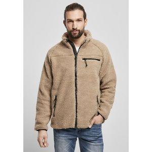Brandit Teddyfleece Jacket camel obraz