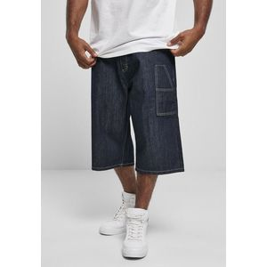 Southpole Denim Shorts with Tape raw indigo obraz