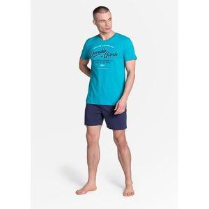 Pánské pyžamo Henderson 38868 L Světle modrá obraz