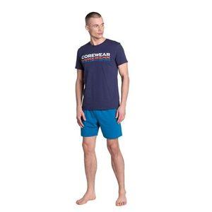 Pánské pyžamo Henderson 38870 L Tm. modrá obraz